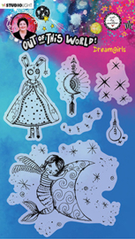 ABM-OOTW-STAMP70 ABM Clear Stamp Dreamgirls Out Of This World nr.70