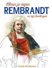 Kosmos Boek - Kleur je eigen Rembrandt en zijn leerlingen Rombouts, Carola