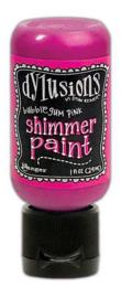 Ranger Dylusions Shimmer Paint Flip Cap Bottle - Bubblegum Pink DYU74373
