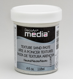 Texture Sand Paste (White) DecoArt 118 ml DMM23
