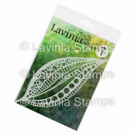 Tall Leaf Mask – Lavinia Stencils ST027  17cm x 7cm