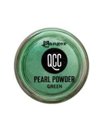 QuickCure Clay Pearl Powders Green, 0.25oz - QCP71686