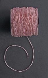 Parelsnoer roze