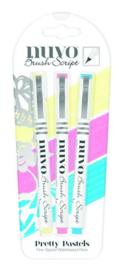 Nuvo brush script pens - pretty pastels 112N