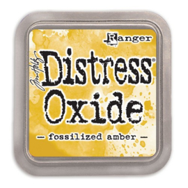 Ranger Distress Oxide Ink Pad - Fossilized Amber TDO55983