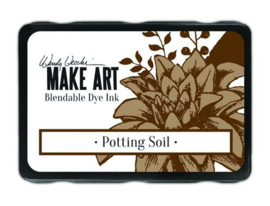 Ranger MAKE ART Dye Ink Pad Potting Soil WVD64367 Wendy Vecchi