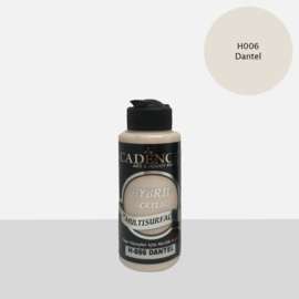 Cadence Hybride acrylverf (semi mat) Old Lace 01 001 0006 0120 120 ml  301200/0006