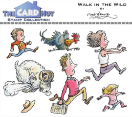 The Card Hut Walk In The Wild Clear Stamps (MBWWWITW)