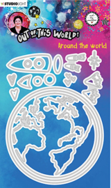 ABM-OOTW-CD86 ABM Cutting & Emb. Die Around the world Out Of This World nr.86