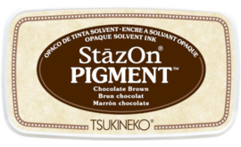StazOn Pigment Chocolate Brown  SZ-PIG-41 75 x 35mm