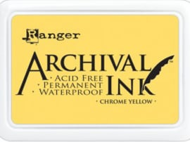 Ranger - Archival Ink Pads - Chrome Yellow AIP30591