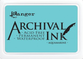 Ranger - Archival Ink Pads - Aquamarine AIP30577