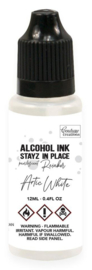 Couture Creations Stayz in Place Alcohol Ink Pearlescent Artic White (12ml) Reinker (CO728203)