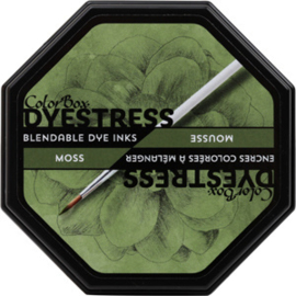 Clearsnap Colorbox Dyestress Blendable Dye Ink Full Size Moss (23120)