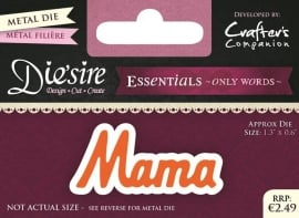 Die'sire Essentials Only Words NL - Mama DS-E-W-06-NL