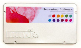 Nuvo watercolour potloden - Elementary Midtones 523N