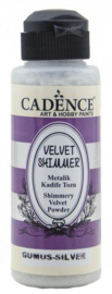 Cadence Velvet shimmer powder Zilver 01 099 0001 0120 120 ml