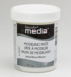 DecoArt Modeling Paste White DMM21