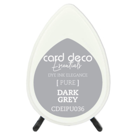 Card Deco Essentials Fade-Resistant Dye Ink Dark Grey CDEIPU036