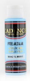 Cadence Premium acrylverf (semi mat) Hemelsblauw 01 003 9042 0070 70 ml