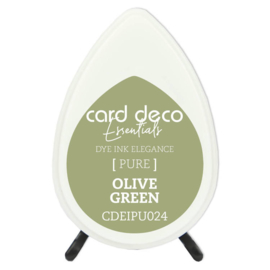 Card Deco Essentials Fade-Resistant Dye Ink Olive Green  CDEIPU024