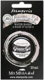 Stamperia Glamour Gel Sparkling White (20ml) (K3P59B)