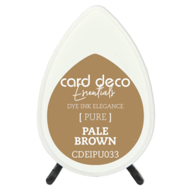 Card Deco Essentials Fade-Resistant Dye Ink Pale Brown  CDEIPU033