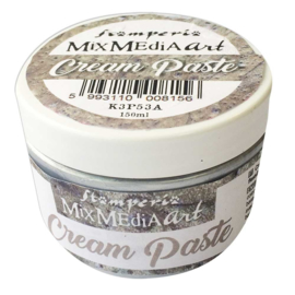 Stamperia Cream Paste Metallic Silver (K3P53A)