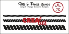 Crealies Clearstamp Bits&Pieces no. 75 2,7x92-4,0x92-7,2x92mm / CLBP75