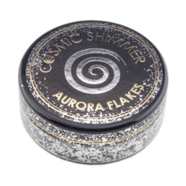 Cosmic Shimmer Aurora Flakes Black Diamond 50ml