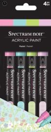 Spectrum Noir Acrylic Paint Marker sets (4st)-Pastel