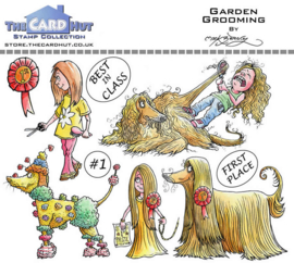 The Card Hut Garden Grooming Clear Stamps (MBPGG)