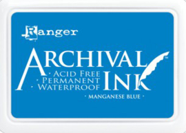 Ranger - Archival Ink Pads - Manganese Blue AIP30454