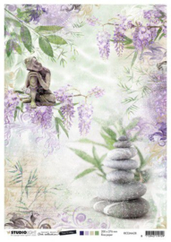 Studio Light Rice Paper A4 vel Jenine's Mindful Art 5.0 nr.28 RICEJMA28