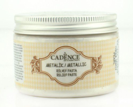 Cadence Metallic Relief Pasta Parelmoer 01 085 5934 0150 150 ml