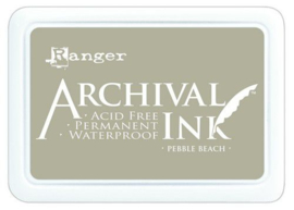 Ranger Archival Ink pad - pebble beach AIP70788