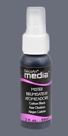DecoArt mixed media spray mister Carbon black