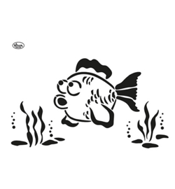 902207000 - Blob Paint, Universal-Schablone, Fisch A3