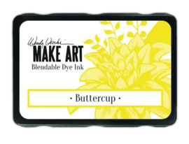Ranger MAKE ART Dye Ink Pad Buttercup WVD64299 Wendy Vecchi
