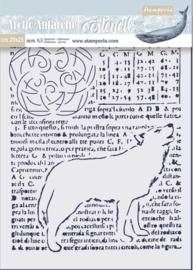 Stamperia Thick Stencil 20x25cm Wolf (KSTD057)