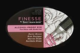 Spectrum Noir ovale Inktkussen - Finesse Alcohol-proof - Rustic Brown