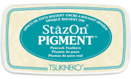 StazOn Pigment Peacock Feathers SZ-PIG-62 75 x 35mm