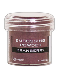 Ranger Embossing Powder 34ml - EP - CRANBERRY METALLIC EPJ60352