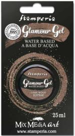 Stamperia Glamour Gel Dark Wood (20ml) (K3P59E)
