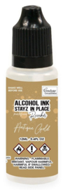 Couture Creations Stayz in Place Alcohol Ink Pearlescent Antique Gold (12ml) Reinker (CO728204)