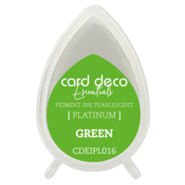 Card Deco Essentials Fast-Drying Pigment Ink Pearlescent Green CDEIPL016