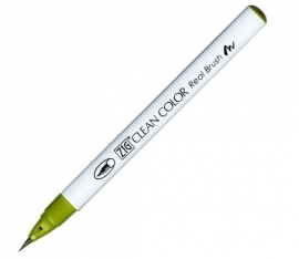 ZIG Clean color real brush Mid Green 046