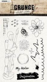 Studio Light Clear Stamp Artist's Atelier nr.30 SL-GR-STAMP30 A5