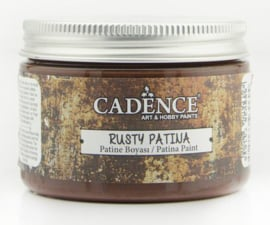 Cadence rusty patina verf Patina Brown 01 072 0001 0150 150 ml