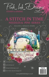 Pink Ink Designs A Stitch In A Time A5 Clear Stamp PI070